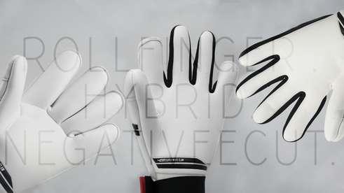 Tipos de cortes de los guantes de portero