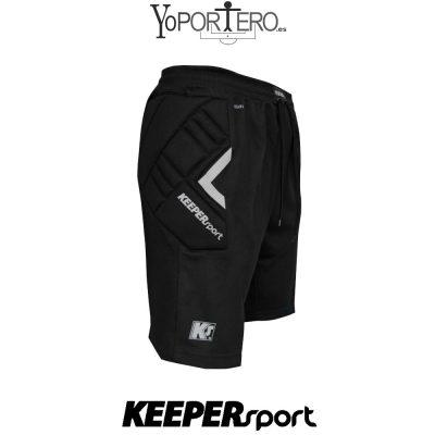 Pantalon piratas de portero KEEPERsport BasicPadded Premier