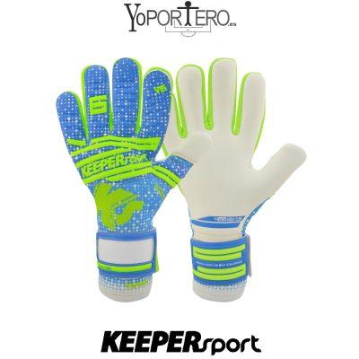 Guantes de portero KEEPERsport Varan6 Pro NC Aqua Invincible