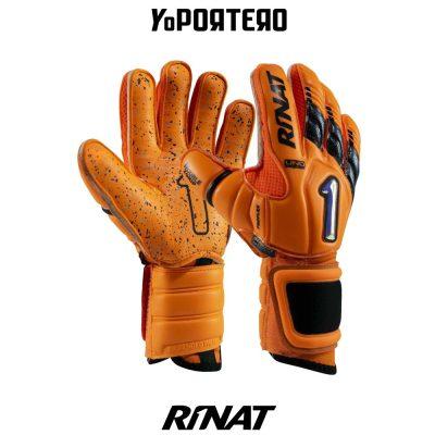 Guantes de portero Rinat Uno Premier Lux Pro Naranja