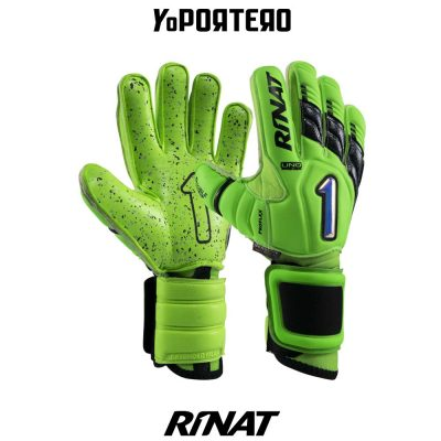 Guantes de portero Rinat Uno Premier Lux Pro verde