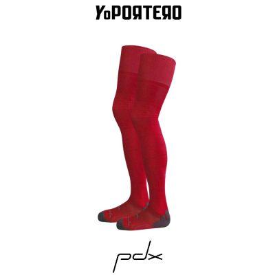 Tienda online de medias de portero PDX GK rojo.