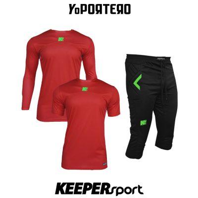 Set de porterp KEEPERsport GKsix Premier
