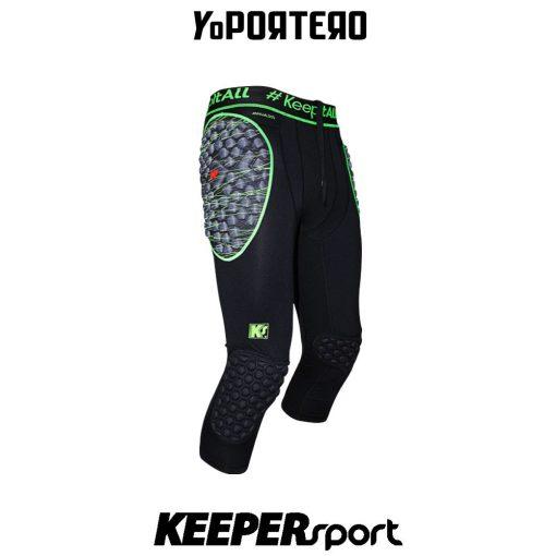 Legging de portero Keepersport PowerPads Inferno